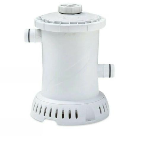 Summer Waves 36in Inflatable Above Ground Pool Filter Pump