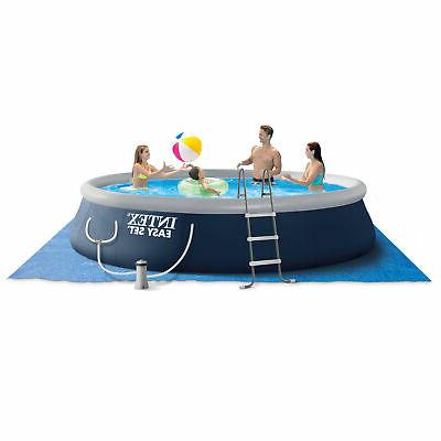 15ft x 42in easy set inflatable above
