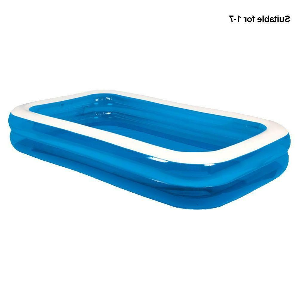 2x Pool Inflatable Outdoor Adult