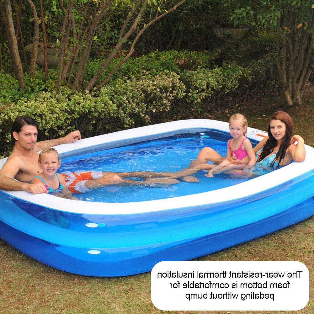 2x Large Family Pool Outdoor Adult Children Pool