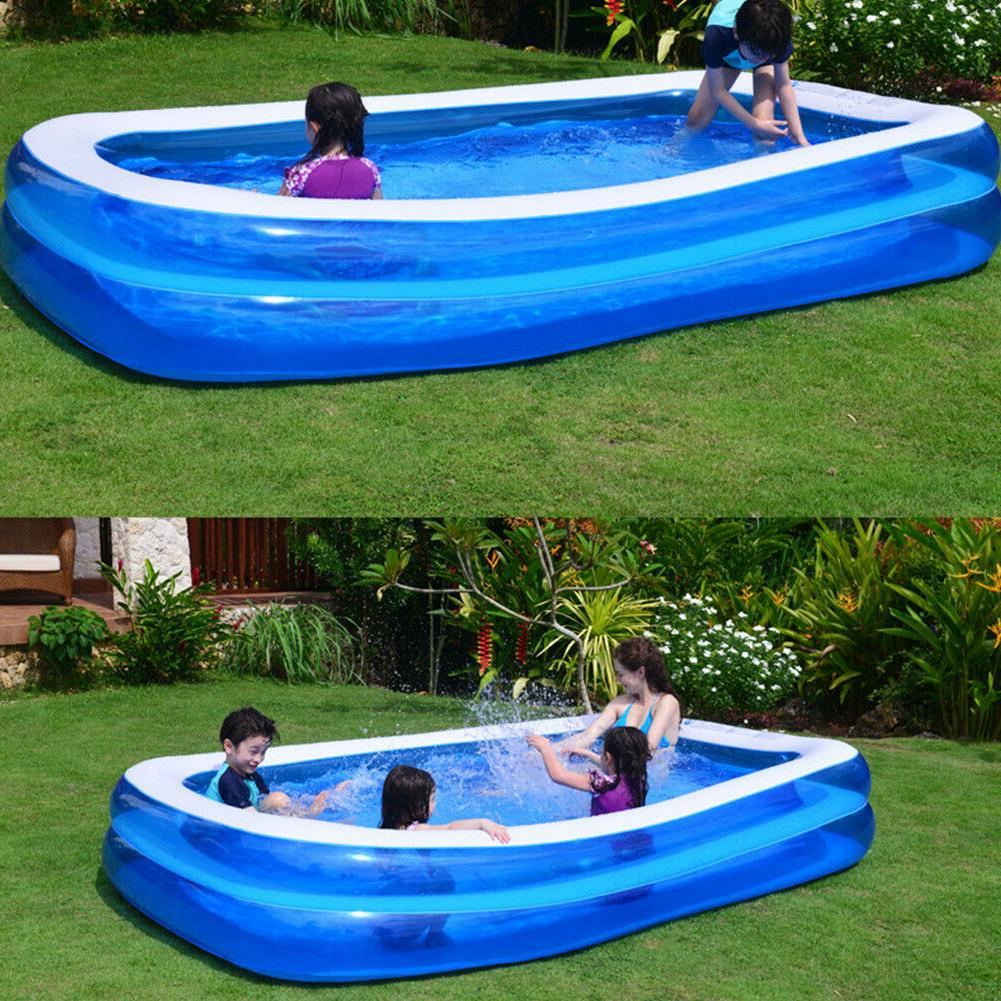 2x Large Family Swimming Pool Thick Outdoor Adult Children