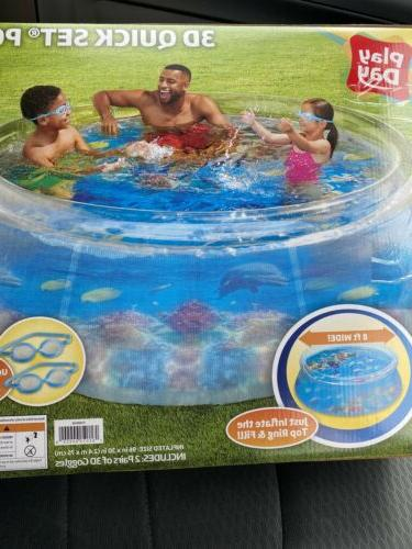Play Inflatable Pool Quick Ring