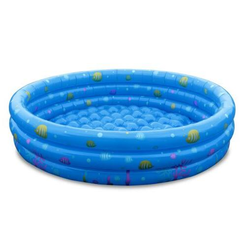 "51"" Inflatable Kids Swim Center Water 3"