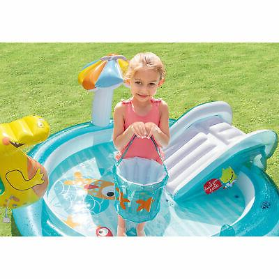 Intex 57165EP Inflatable Kiddie Play Center with Slide