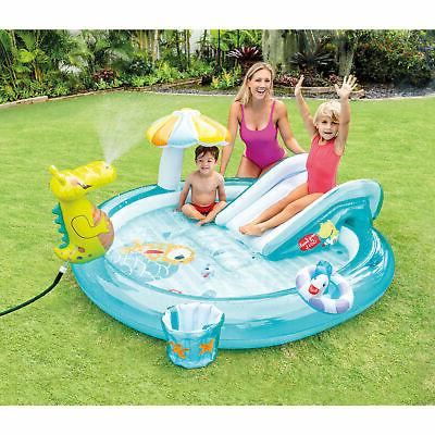 Intex 57165EP Inflatable Kiddie Pool Water Play with
