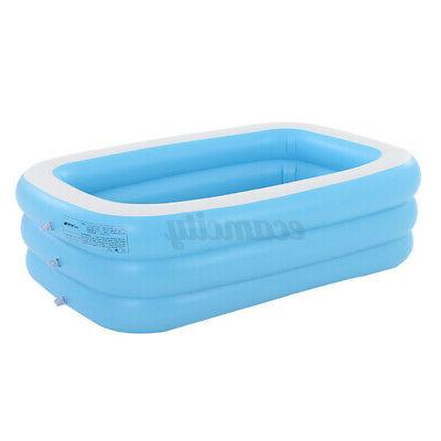 59 Inch Round Inflatable Swimming Play Kids Outdoor