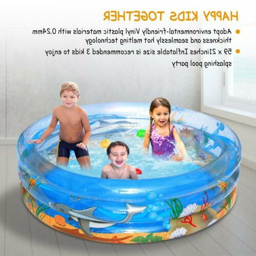 59 Round Inflatable Play Fun Kids Outdoor