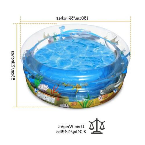 59 Inch Swimming Water Play Outdoor