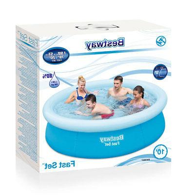 Bestway 57252E 20in Inflatable Above Ground Blue