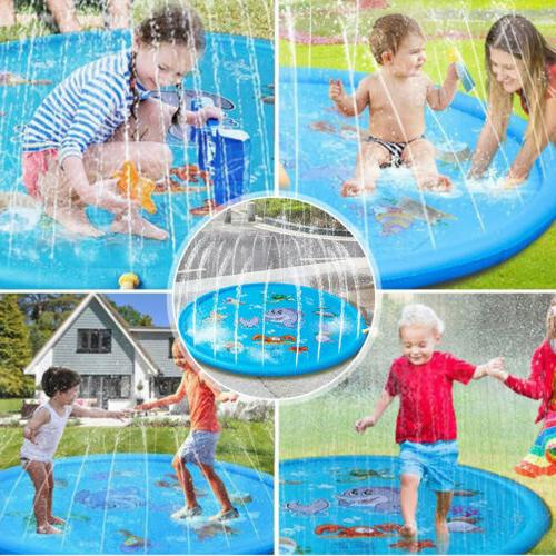 """66.9"""" Inflatable Spray Water Pool Lawn Play"""