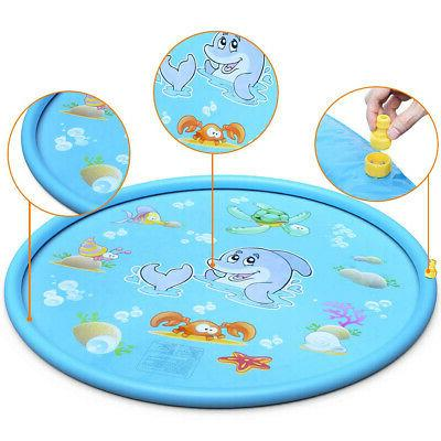 """68"""" Inflatable Water Pad Outdoor Pool Beach Play"""