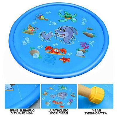 """68"""" Inflatable Spray Water Mat Outdoor Play"""