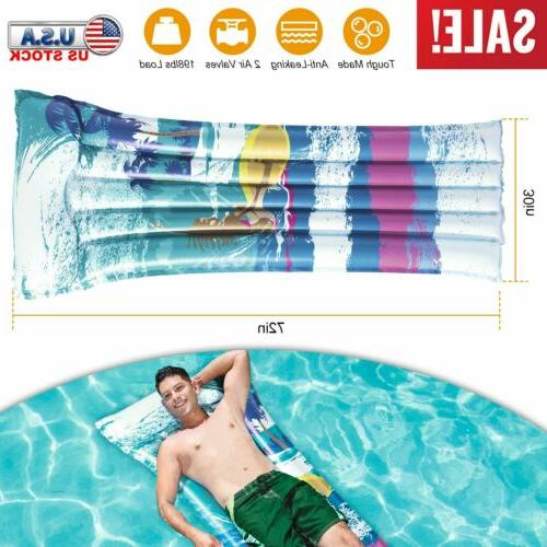 """72"""" Air Mat Party Comfortable Guest Bed"""
