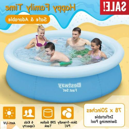 78 x20 easy set above ground inflatable