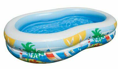 Intex 8.5ft x Paradise Seaside Kiddie Pool