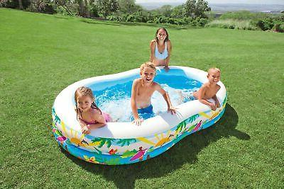 Intex 8.5ft x 18in Swim Paradise Seaside Inflatable Pool