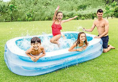 Intex x Inflatable Swimming Blue