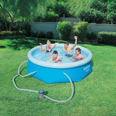 Fast Inflatable Ground Swimming Pool Filter
