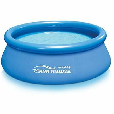 8 x30 quick inflatable top ring swimming
