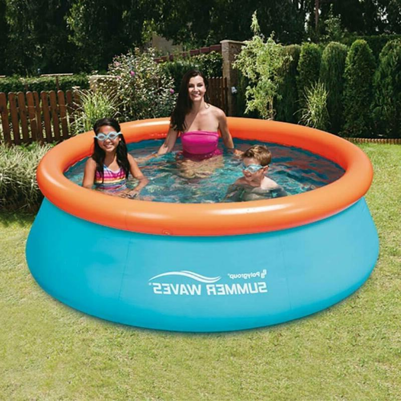 Summer 8Ft 30In Inflatable Kids Pool