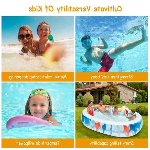 """90""""×60""""×20"""" Blow Family Pool For"""