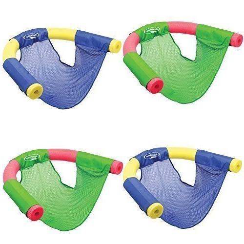 SwimWays  Floating Pool Noodle Sling Mesh Chairs - Water Rel
