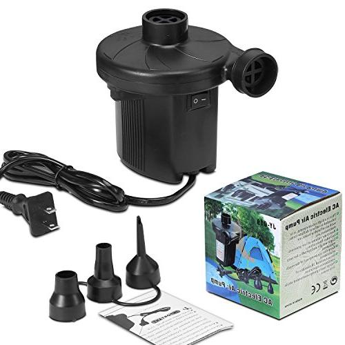 KUMEED Quick-Fill for Inflatables Camp Pool Float, Pump in 110V