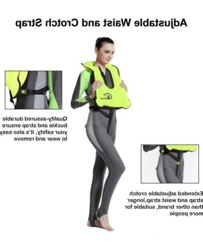 Rrtizan Vest Portable for Swimming Safety