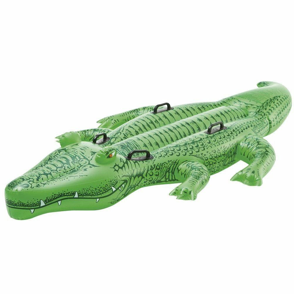 Alligator Ride-On Inflatable Kids Swimming Pool Toy Children