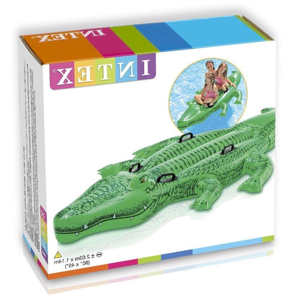 Alligator Ride-On Swimming Pool Toy Float