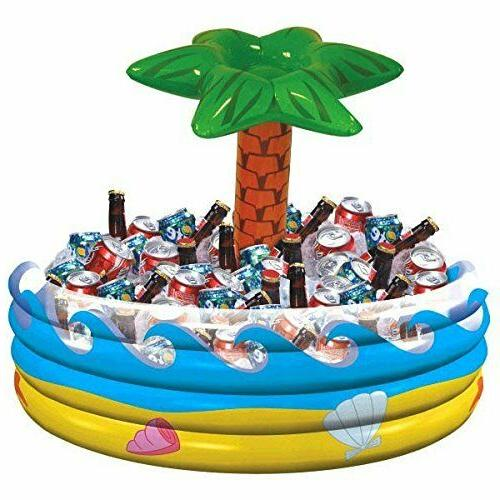 Amscan Palm Tree Inflatable Cooler Party Accessory Outdoor P
