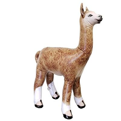 Jet Creations AN-ALPA Inflatable Alpaca Height Party Favors