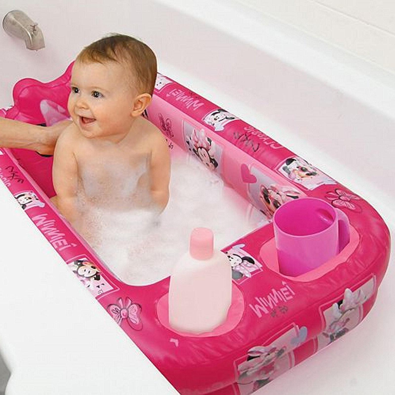 baby bath tube inflatable safety disney toddler