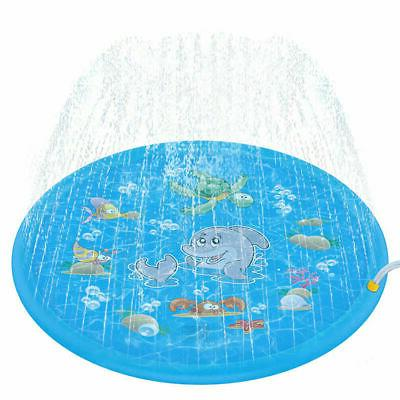 Spray Splash Water Mat Pad Lawn Toy
