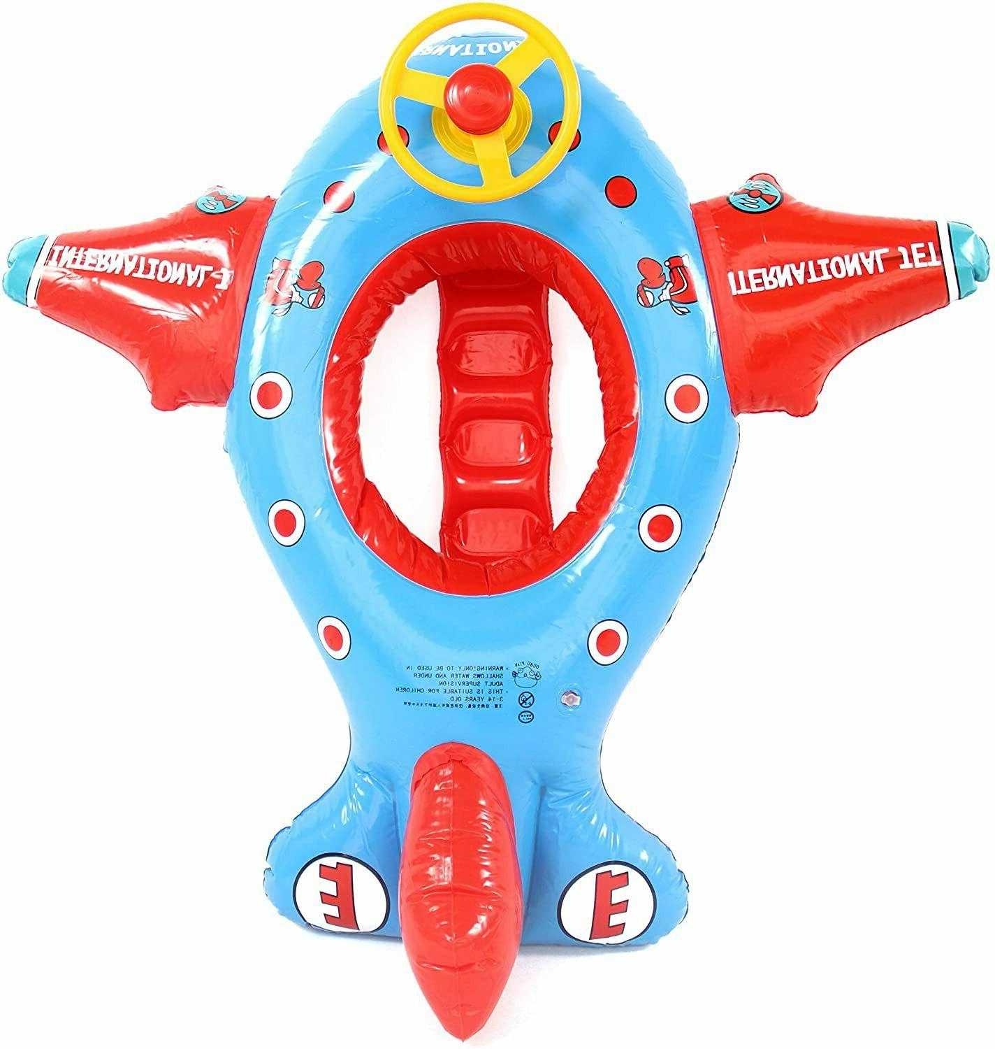 Baby Float Rocket Airplane and Inflatable