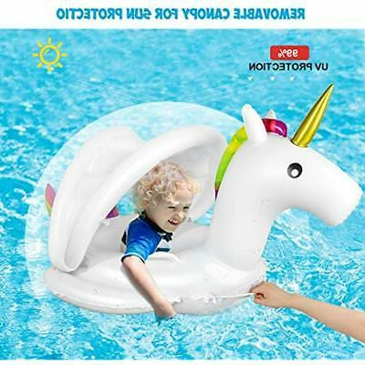 Baby Canopy - Swimming Floaties Boat Toys