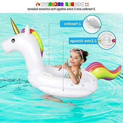 Baby Float Canopy - Inflatable Swimming Floaties Boat Toys