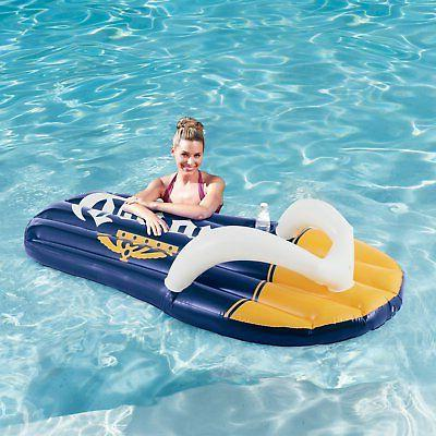 Summer Left Right Flop Pool Floats Cupholder