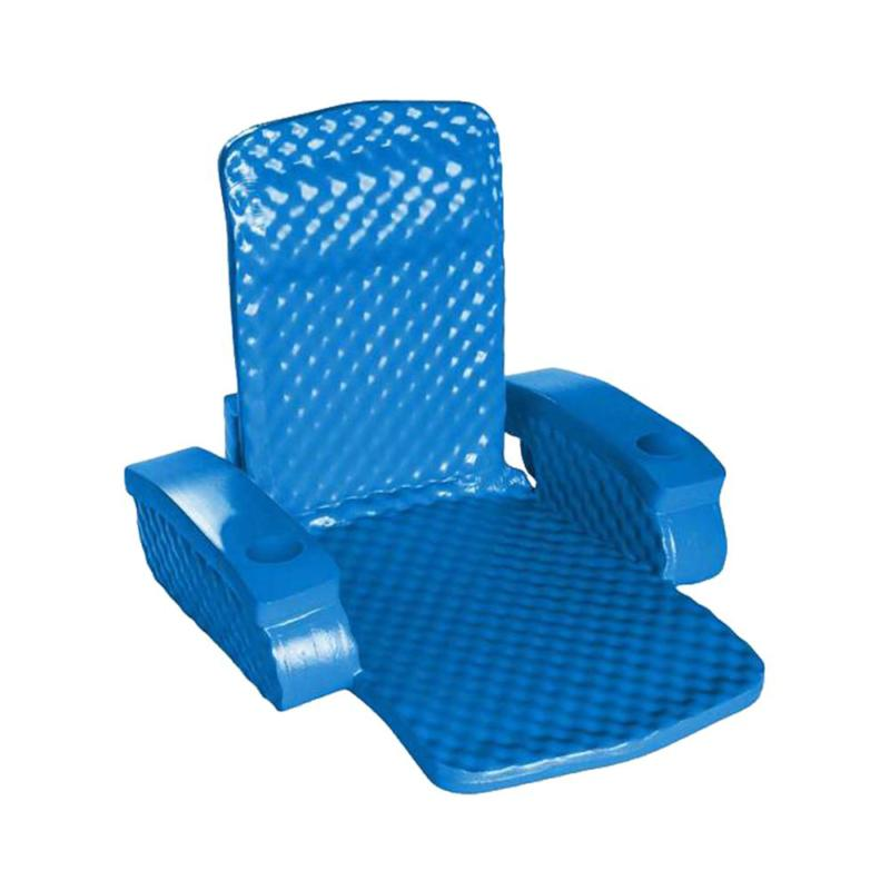 Blue Super Rectangle Outdoor Inflatable Pool Chair