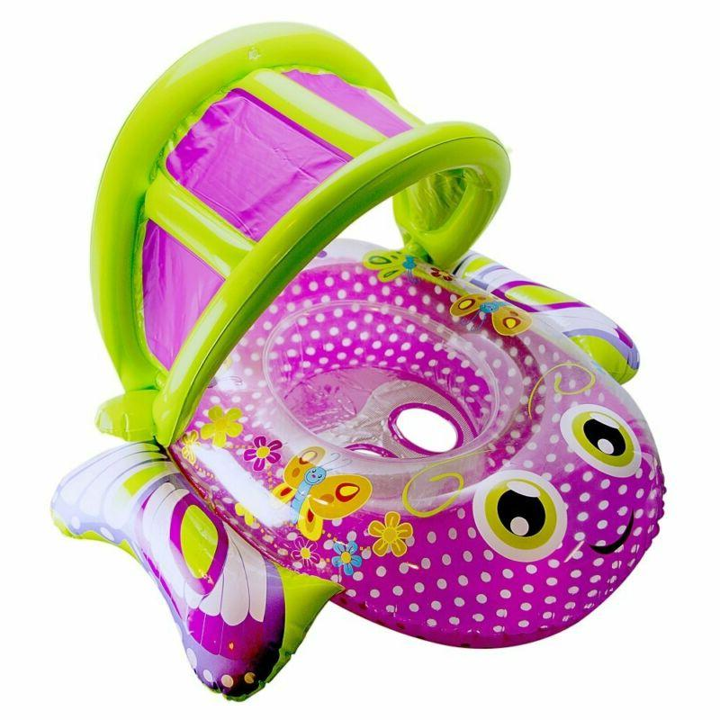 bouncing butterfly baby boat extra wide inflatable