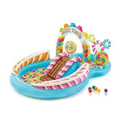 candy zone inflatable play center 116 x