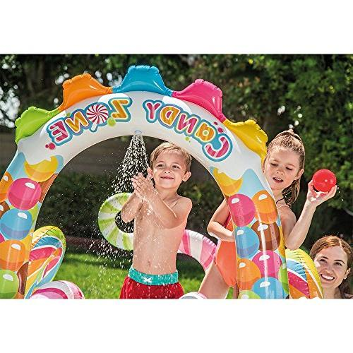 "Intex Candy Zone Play 75"" X 51"", for Ages"