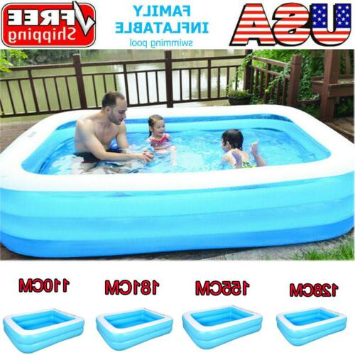 children inflatable swimming pool lounge family summer