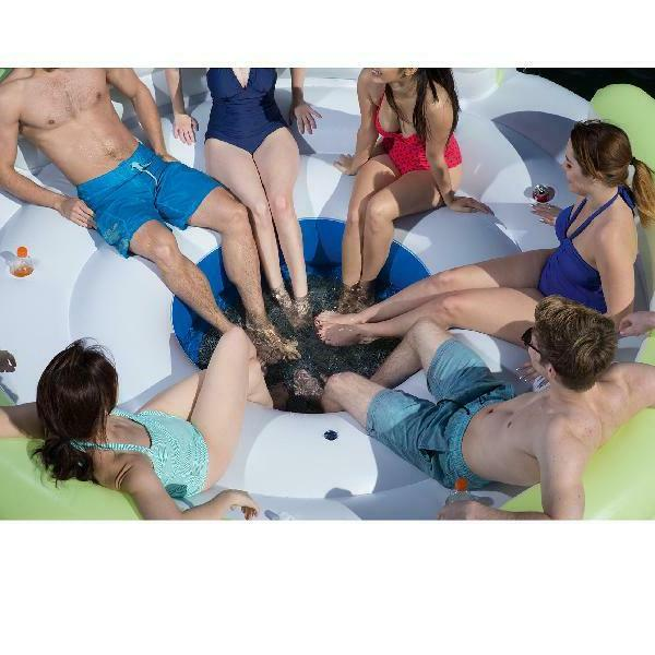 Bestway CoolerZ Lazy Dayz 6-Person Lounge Raft