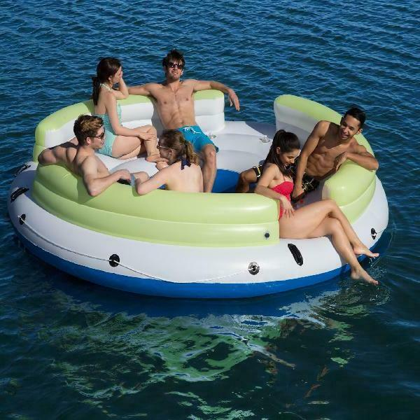 Bestway CoolerZ 6-Person Floating Lounge