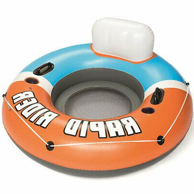 Bestway 43116E CoolerZ Rapid Rider Inflatable River Lake Poo