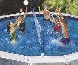 cross pool volly above ground