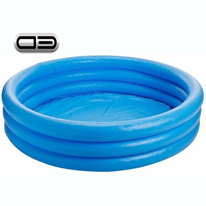 crystal blue inflatable pool 45 x 10