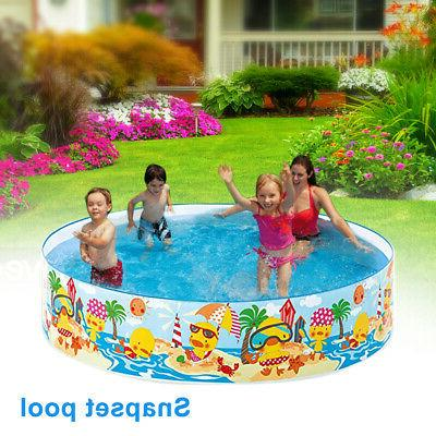 Portable Foldable PVC Family Non Inflatable Summer Snapset P