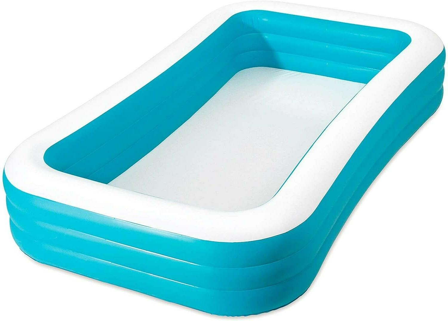 "Play Day Foot Family Pool Outdoor 72"" 22"""